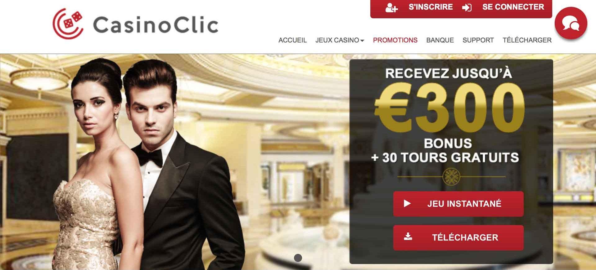 Voir toutes les facettes du Casino Clic avec notre avis