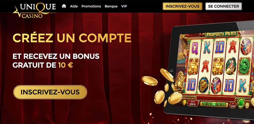 Unique casino : fiable ou escroquerie ? Notre avis